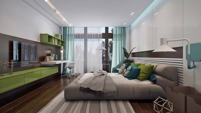 Những mẫu phòng ngủ khiến trẻ em như lạc vào thế giới mộng mơ - Ảnh 9.