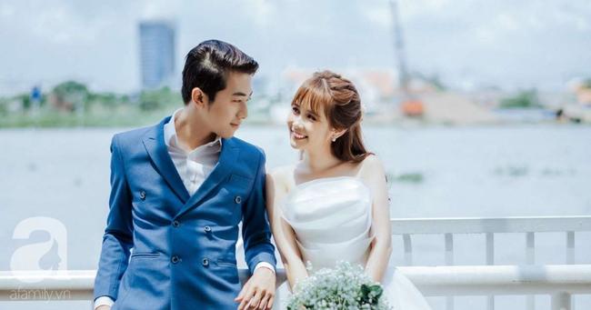 """Hot youtuber Cris Phan chính thức lên xe hoa, đám cưới đã """"siêu to, siêu khổng lồ"""" mặt chú rể còn biểu cảm như đang livestream thế này - Ảnh 1."""