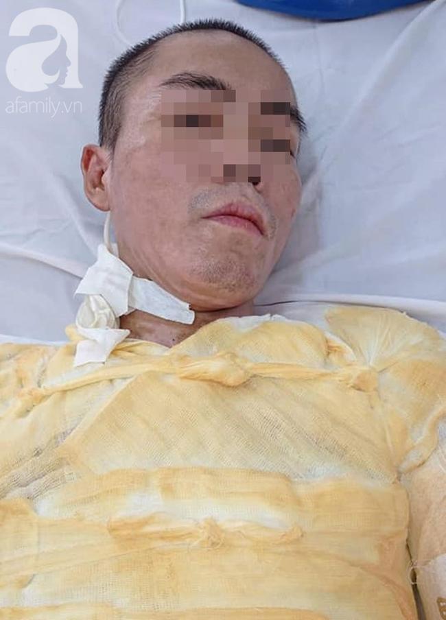 Bệnh nhân gặp nạn khi vừa về thăm nhà.