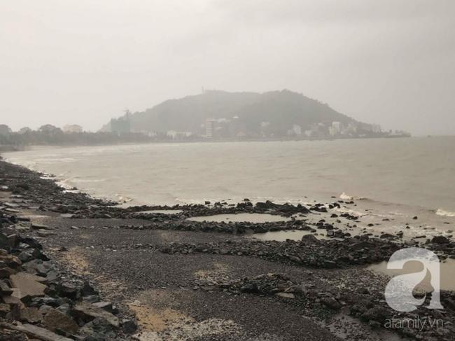 Mưa cũng xuất hiện tại khu vực ven biển từ Bà Rịa - Vũng Tàu đến Bạc Liêu.