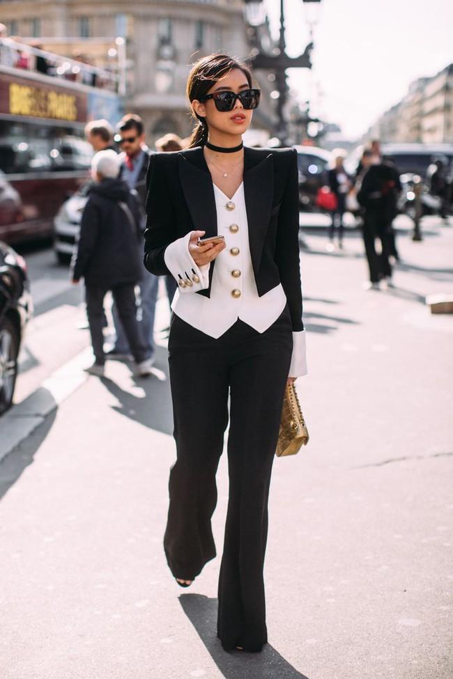 """Rich kid Thảo Tiên vừa lên đồ """"chất ngất"""" đã lọt ngay vào top street style đẹp nhất Paris Fashion Week - Ảnh 4."""