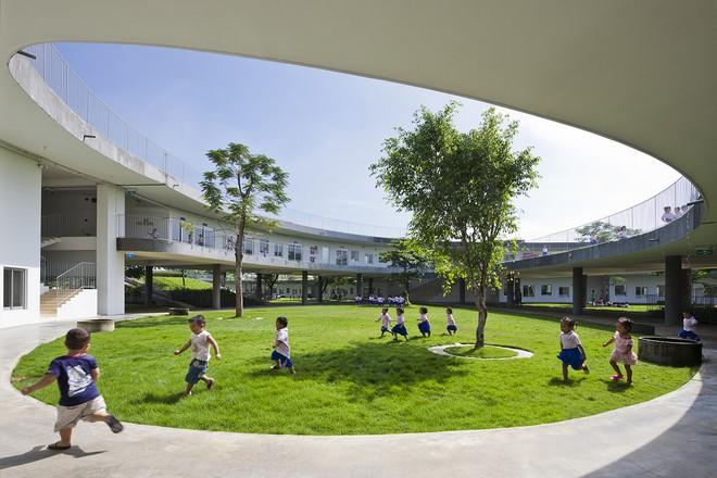 Cận cảnh ngôi trường mầm non ở Đồng Nai được xếp hạng đẹp nhất thế giới - Ảnh 8.