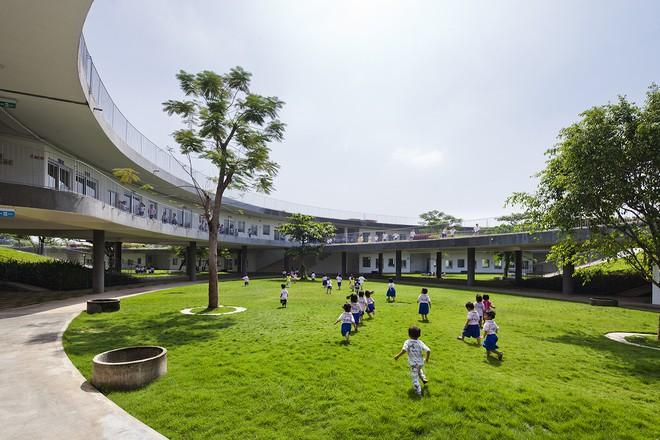 Cận cảnh ngôi trường mầm non ở Đồng Nai được xếp hạng đẹp nhất thế giới - Ảnh 13.