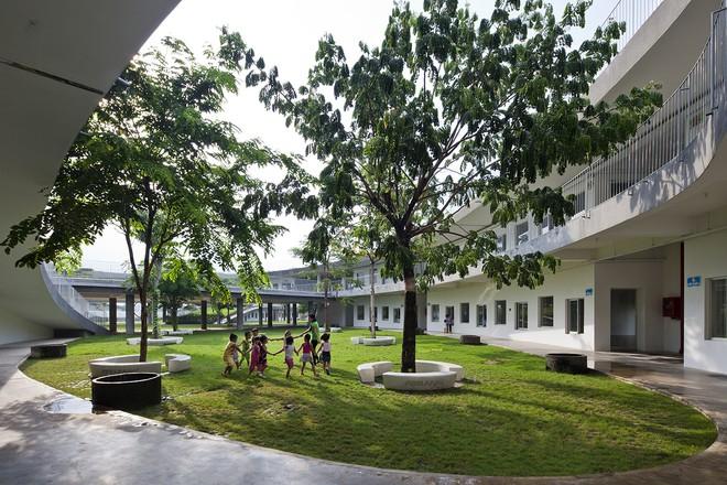 Cận cảnh ngôi trường mầm non ở Đồng Nai được xếp hạng đẹp nhất thế giới - Ảnh 9.