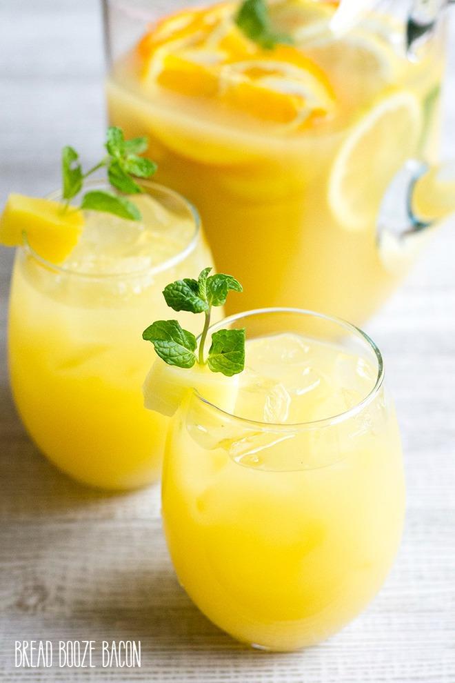 """Cocktail cam chanh với 2 cách làm thật dễ, cực """"đã"""" cho ngày nắng nóng - Ảnh 1."""