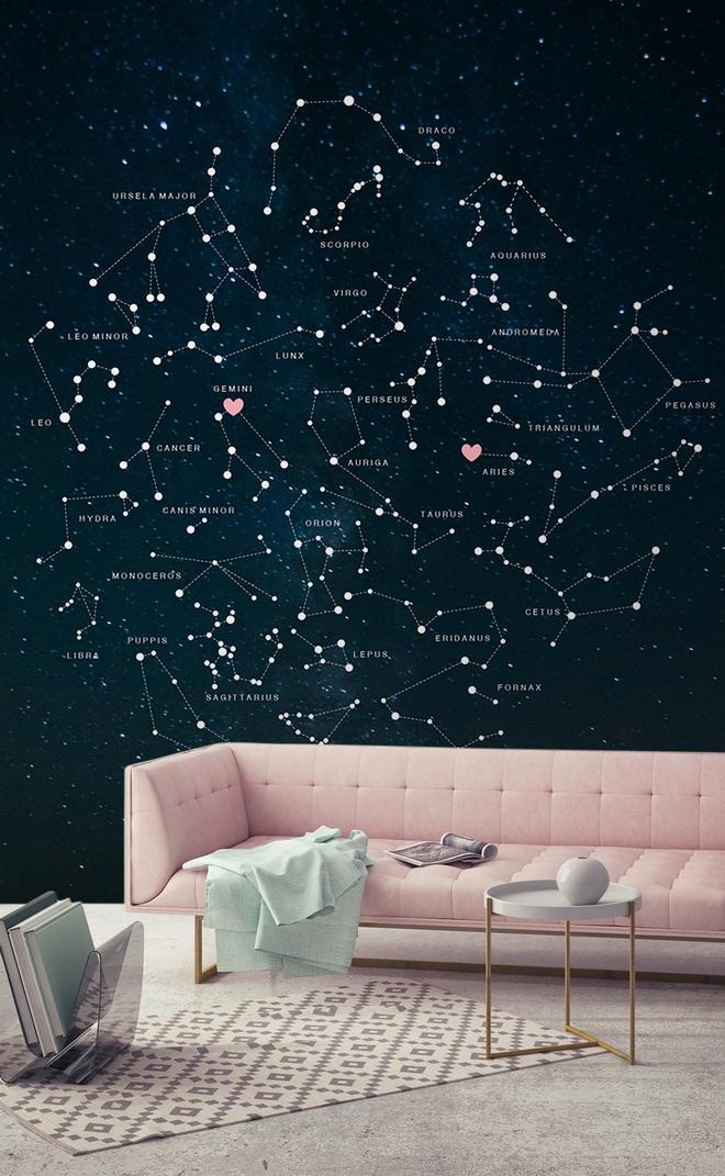 10 ý tưởng dễ như ăn kẹo để mang cả dải ngân hà vào không gian sống - Ảnh 1.