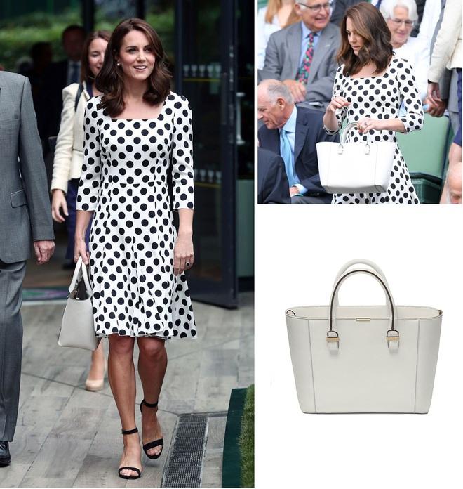 Suốt cả tháng 7, công nương Kate chỉ chuộng diện lại túi cũ từ năm ngoái - Ảnh 1.