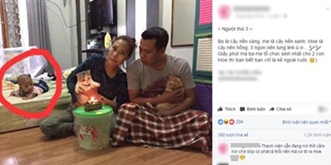 Bố mẹ bỏ bê con trai nằm chơ vơ trên giường để chuyên tâm tổ chức sinh nhật cho… mèo - Ảnh 2.