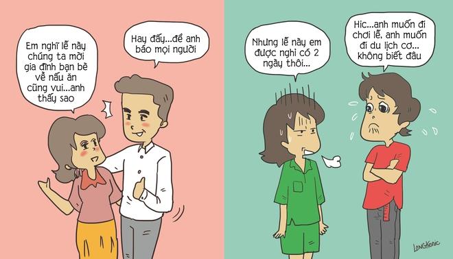 Tranh vui: Hãy nghe đàn ông chỉ phụ nữ cách chọn chồng - Ảnh 1.