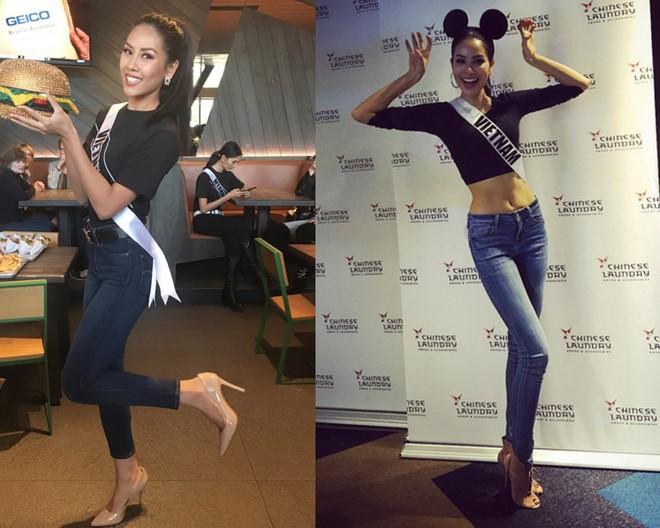Xem Nguyễn Thị Loan đi thi Miss Universe lần này, mà nhiều người chỉ nhớ đến Phạm Hương của 2 năm trước - Ảnh 5.