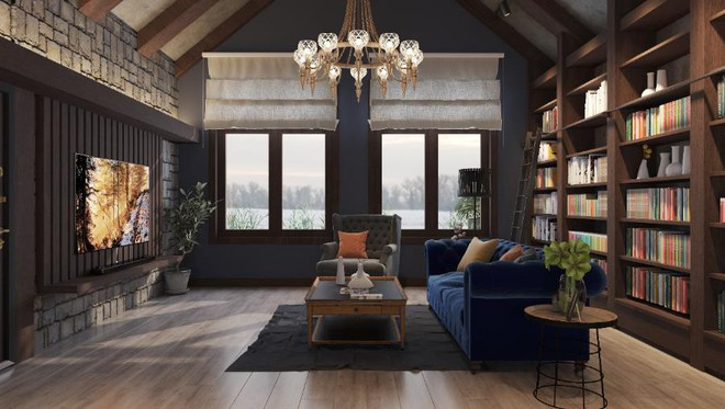 Bộ sưu tập những phong cách thiết kế nội thất phòng khách sang chảnh nhất - Ảnh 6.