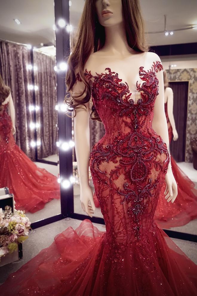 Hé lộ đầm dạ hội mặc đêm Chung kết Miss Grand International của Huyền My, trông chẳng khác gì đầm mặc hôm Bán kết - Ảnh 3.