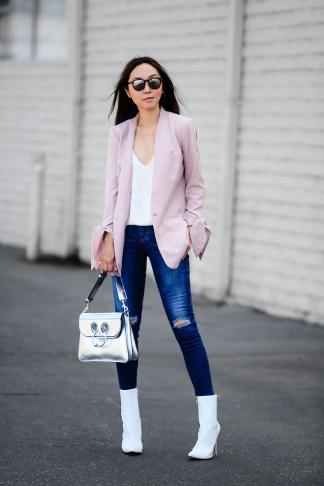 Muốn diện áo khoác kẻ thật đẹp, ắt hẳn bạn phải nghía qua street style Châu Á tuần này rồi - Ảnh 4.