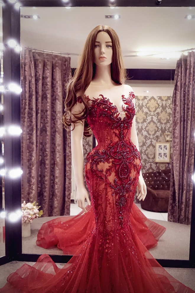 Hé lộ đầm dạ hội mặc đêm Chung kết Miss Grand International của Huyền My, trông chẳng khác gì đầm mặc hôm Bán kết - Ảnh 4.