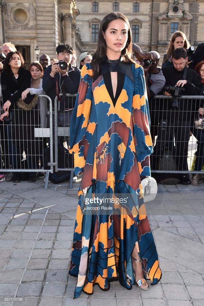 Phạm Băng Băng chơi hẳn màu tóc khói bạc xuất hiện cực chất tại show diễn của Louis Vuitton - Ảnh 8.
