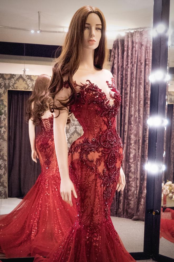 Hé lộ đầm dạ hội mặc đêm Chung kết Miss Grand International của Huyền My, trông chẳng khác gì đầm mặc hôm Bán kết - Ảnh 5.