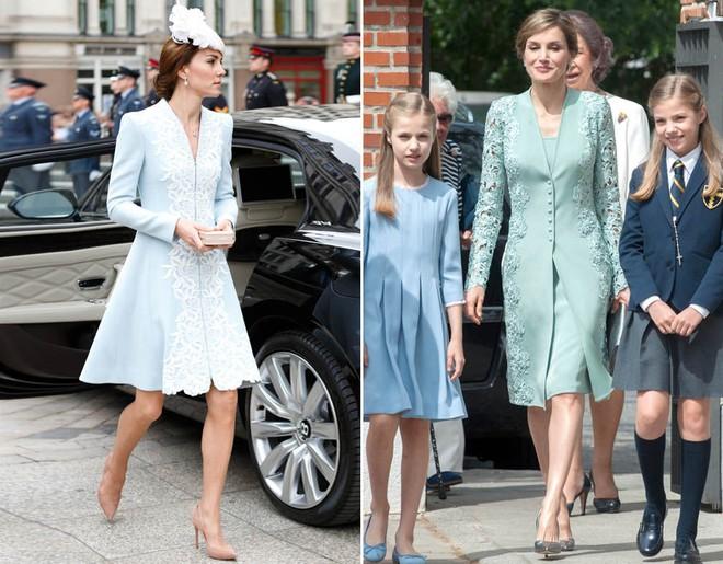 Mặc đẹp là thế, nhưng Công nương Kate cũng từng có vô số màn đụng độ khó phân cao thấp với 1 vị Hoàng hậu - Ảnh 10.