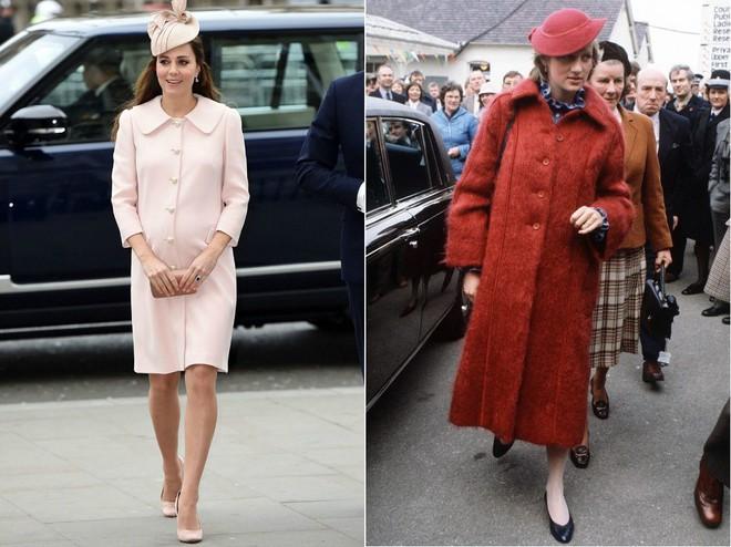 Cùng mang thai, nhưng công nương Kate và công nương Diana lại có cánh che bụng bầu hoàn toàn khác nhau - Ảnh 10.