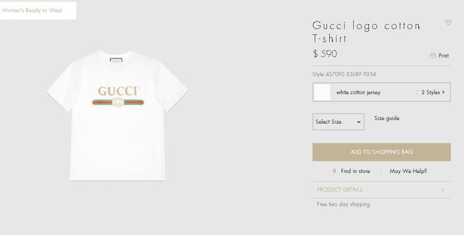 Đơn giản hết mức, nhưng áo phông của Gucci vẫn được các sao Việt và các fashionista thi nhau mặc - Ảnh 10.