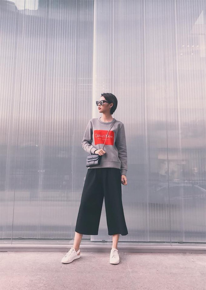 Street style tuần này: Angela Phương Trinh diện váy ôm già chát, Kỳ Duyên nổi bật vì dát hàng hiệu từ đầu tới chân - Ảnh 6.