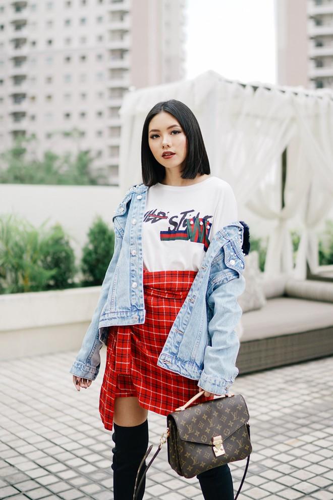 Muốn diện áo khoác kẻ thật đẹp, ắt hẳn bạn phải nghía qua street style Châu Á tuần này rồi - Ảnh 5.