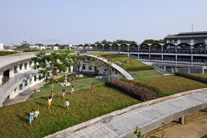Cận cảnh ngôi trường mầm non ở Đồng Nai được xếp hạng đẹp nhất thế giới - Ảnh 6.