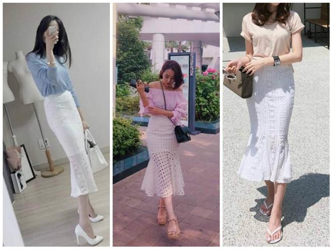 Nếu đã chán với váy ôm cơ bản, các nàng công sở hãy sắm cho mình kiểu chân váy đuôi cá - Ảnh 6.