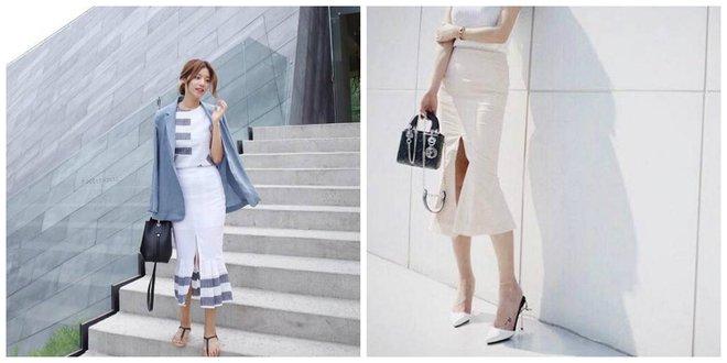 Nếu đã chán với váy ôm cơ bản, các nàng công sở hãy sắm cho mình kiểu chân váy đuôi cá - Ảnh 20.