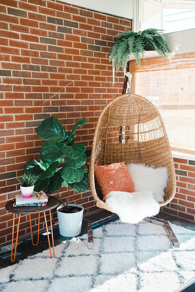 Ghế treo - Món nội thất chỉ góp mặt là nhà đã có ngay góc nghỉ dưỡng tuyệt vời - Ảnh 4.