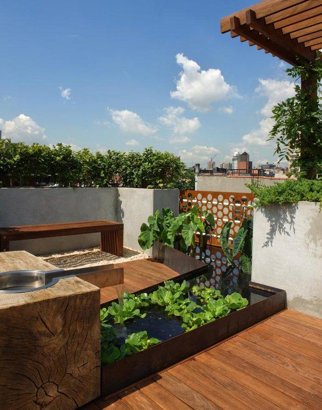 9 khu vườn trên sân thượng vừa đẹp, vừa dễ làm, rất hợp với nhà nhỏ - Ảnh 9.