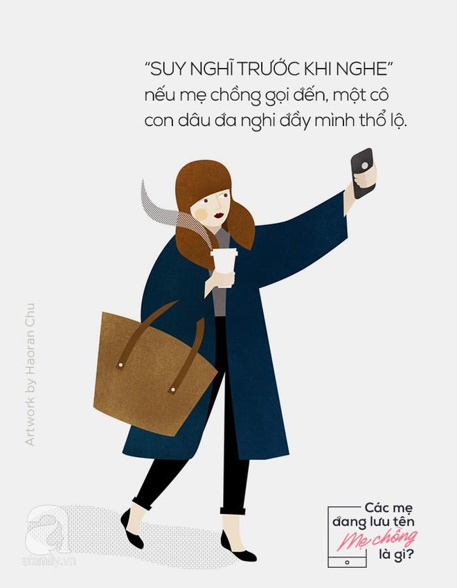 Khai thật đi, các mẹ đang lưu tên mẹ chồng trong điện thoại là gì? - Ảnh 3.