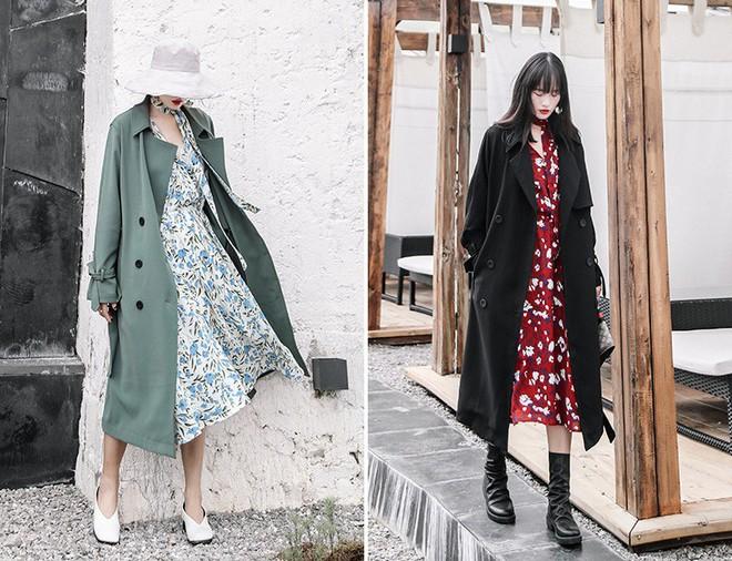 5 mẫu váy đang được các tín đồ thời trang châu Á diện nhiều nhất khi tiết trời se lạnh  - Ảnh 10.
