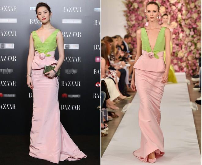 Dương Mịch, Phạm Băng Băng, Angela Baby… chính là những người đẹp rất hay chỉnh sửa váy áo hàng hiệu cho bớt sexy - Ảnh 11.