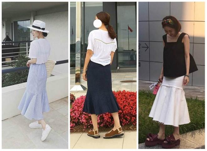Nếu đã chán với váy ôm cơ bản, các nàng công sở hãy sắm cho mình kiểu chân váy đuôi cá - Ảnh 2.