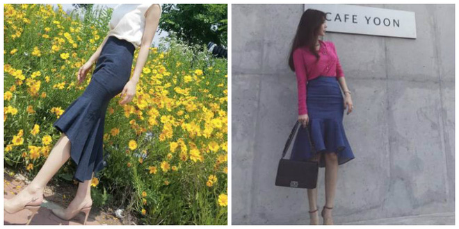 Nếu đã chán với váy ôm cơ bản, các nàng công sở hãy sắm cho mình kiểu chân váy đuôi cá - Ảnh 5.