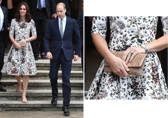 Suốt cả tháng 7, công nương Kate chỉ chuộng diện lại túi cũ từ năm ngoái - Ảnh 11.