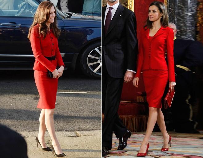 Mặc đẹp là thế, nhưng Công nương Kate cũng từng có vô số màn đụng độ khó phân cao thấp với 1 vị Hoàng hậu - Ảnh 12.