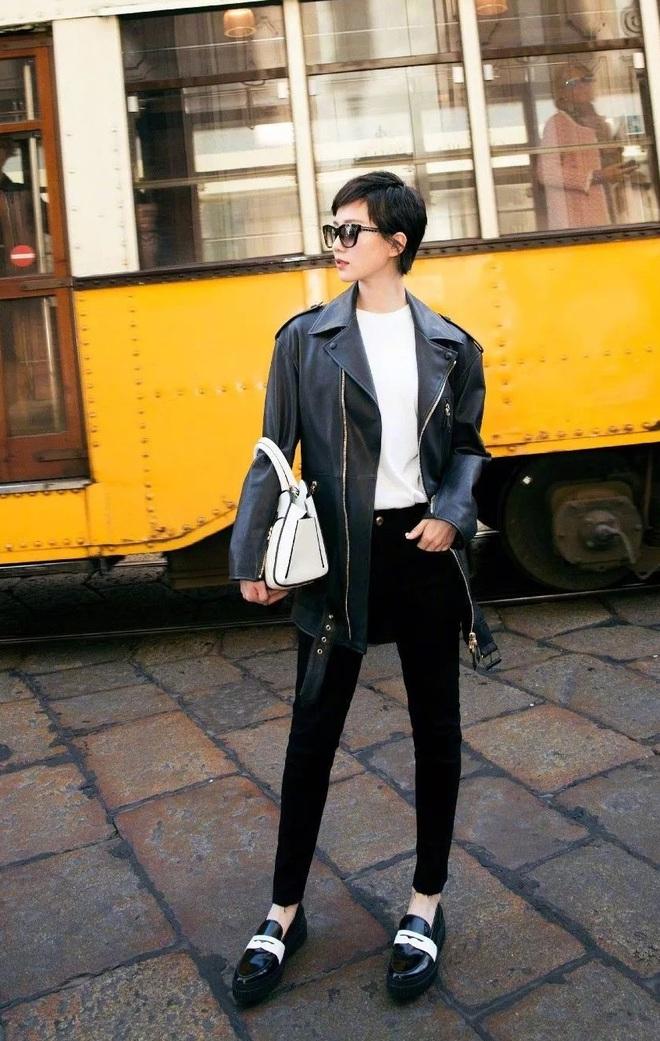 Cứ sang thu là 5 mẫu áo khoác quen thuộc này lại được loạt người đẹp Hoa ngữ lăng xê nhiệt tình - Ảnh 11.