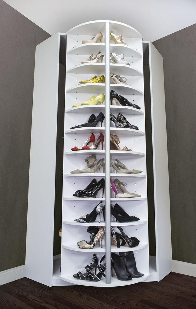 5 mẫu tủ giày nhỏ mà có võ cực tối ưu cho không gian nhà nhỏ - Ảnh 6.