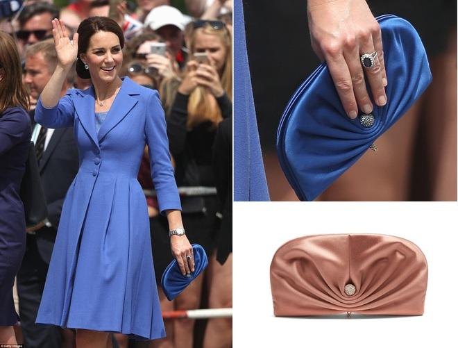 Suốt cả tháng 7, công nương Kate chỉ chuộng diện lại túi cũ từ năm ngoái - Ảnh 12.