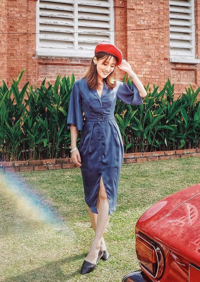 5 mẫu váy đang được các tín đồ thời trang châu Á diện nhiều nhất khi tiết trời se lạnh  - Ảnh 12.