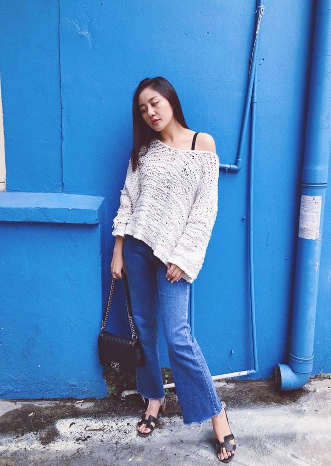 Chỉ diện áo phông đơn giản thôi mà Kỳ Duyên cũng đẹp xuất thần trong street style tuần này - Ảnh 9.