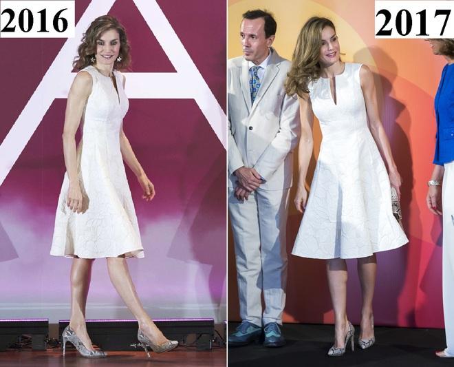 Giống công nương Kate, Nữ hoàng Tây Ban Nha chỉ chuộng những hãng đồ bình dân và chẳng ngại mặc đi mặc lại một mẫu - Ảnh 14.
