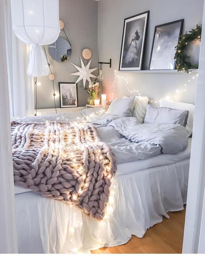 Những mẫu phòng ngủ mùa đông nhìn là thấy ấm - Ảnh 10.