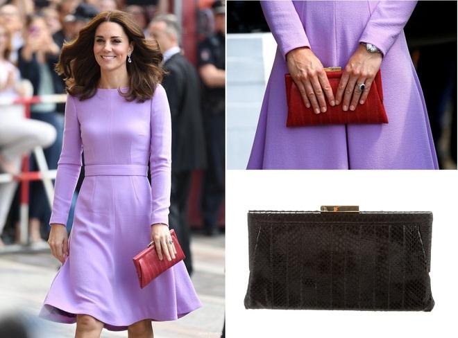 Suốt cả tháng 7, công nương Kate chỉ chuộng diện lại túi cũ từ năm ngoái - Ảnh 14.