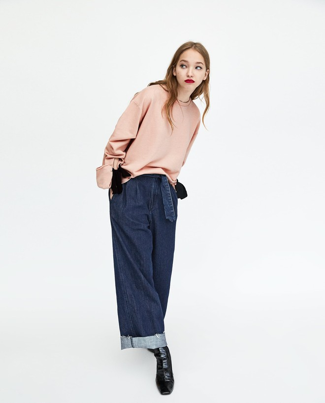 Zara sale 50% và đây là những mẫu áo len, áo nỉ mà các nàng phải vợt ngay kẻo hết size - Ảnh 13.