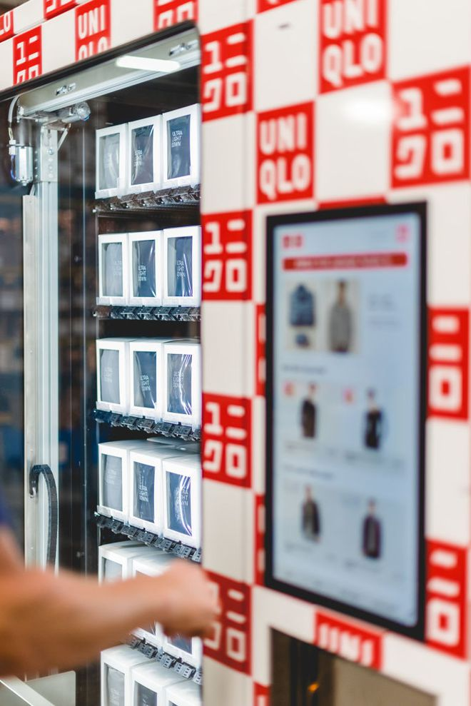 Không phải xếp hàng dài chờ thanh toán, Uniqlo giờ đây đã có máy bán quần áo tự động  - Ảnh 6.