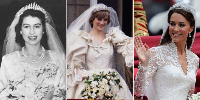 Bật mí loại nước hoa mà công nương Kate, Diana và nữ hoàng Elizabeth II sử dụng trong ngày cưới - Ảnh 1.