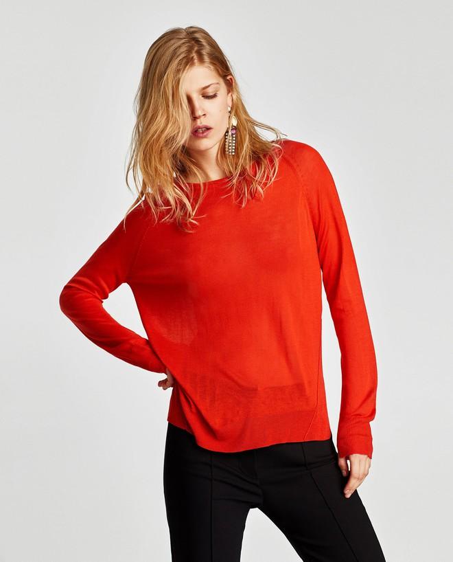 Zara sale 50% và đây là những mẫu áo len, áo nỉ mà các nàng phải vợt ngay kẻo hết size - Ảnh 6.