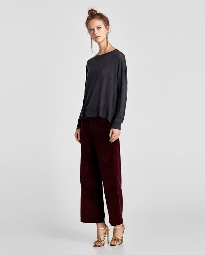 Zara sale 50% và đây là những mẫu áo len, áo nỉ mà các nàng phải vợt ngay kẻo hết size - Ảnh 8.